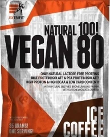 Extrifit Vegan 80 35 g variant: čokoláda