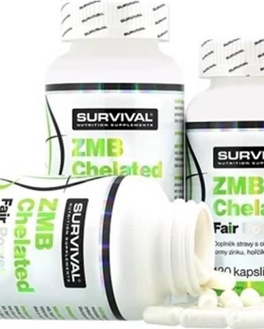 Survival ZMB Chelated Fair Power 120 kapsúl