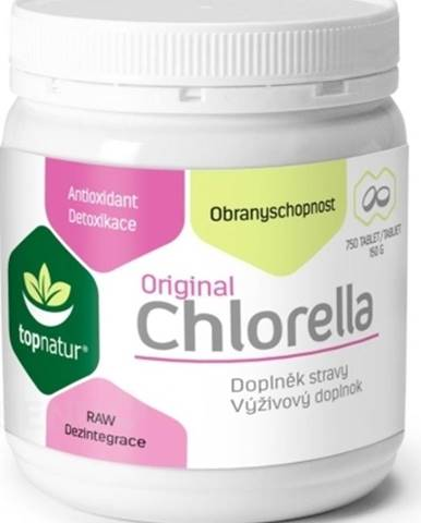 Topnatur Chlorella Original 750 tabliet