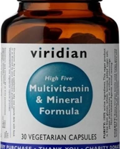 Viridian High Five Multivitamín & Mineral Formula 30 kapsúl