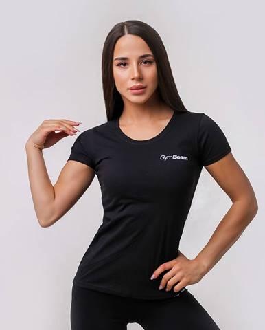 GymBeam Dámske tričko Basic Black  XS