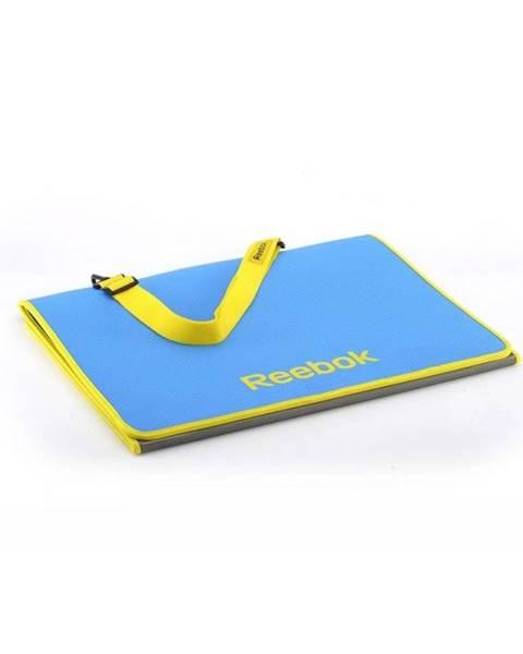 Reebok REEBOK Premium fitness podložka skladacie Purpurová + žlutá