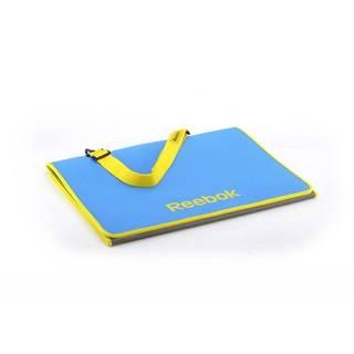 REEBOK Premium fitness podložka skladacie Purpurová + žlutá
