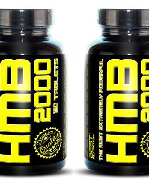 Best Nutrition 1+1 Zadarmo: HMB 2000 od Best Nutrition 120 tbl. + 120 tbl.