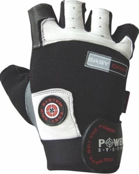 Power System Power System Fitness rukavice Easy Grip biele variant: L