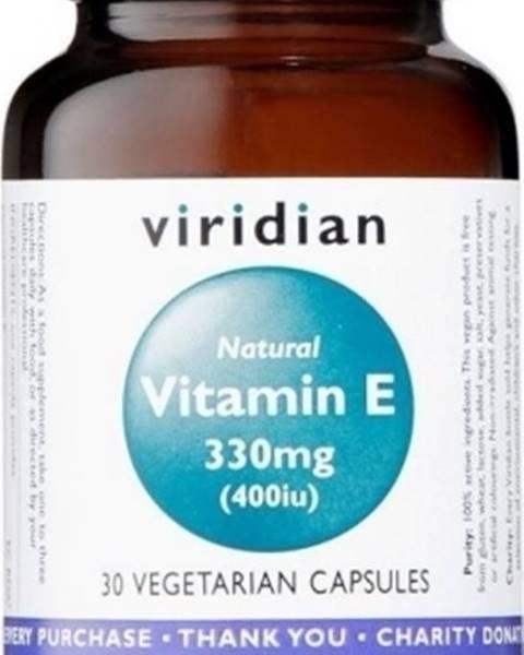 Viridian Viridian Vitamín E 330 mg 400 IU 30 kapsúl