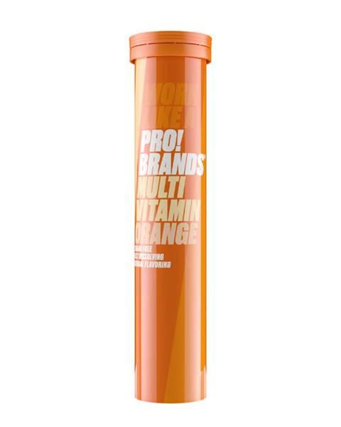 PRO!BRANDS PRO!BRANDS Multivitamín - 20 tabs pomaranč