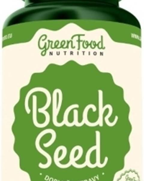 GreenFood GreenFood Black Seed - Čierna rasca 90 kapsúl