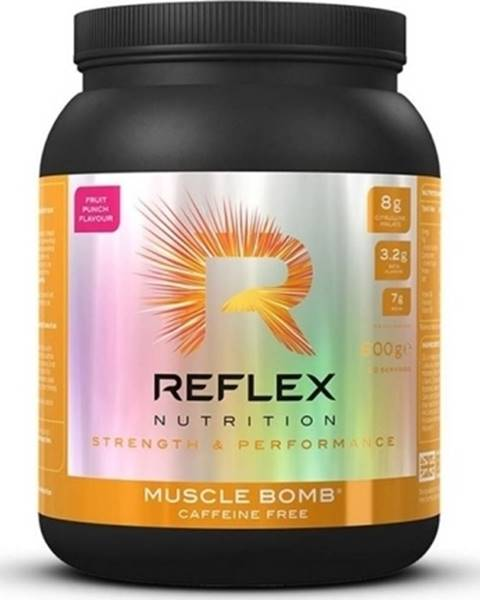 Reflex Nutrition Reflex Nutrition Reflex Muscle Bomb Caffeine Free 600 g variant: višňa