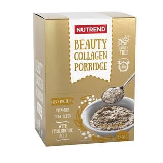 Proteínová kaša Nutrend Beauty Collagen Porridge 5x50g