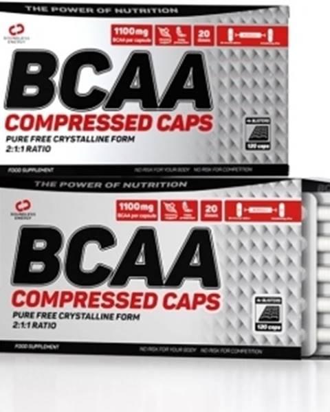 Nutrend Nutrend BCAA Compressed Caps 120 kapsúl