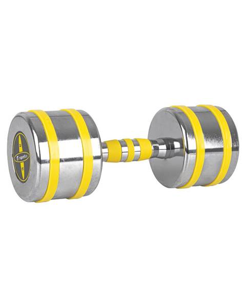 Insportline Chrómová činka inSPORTline Yellsteel 12 kg