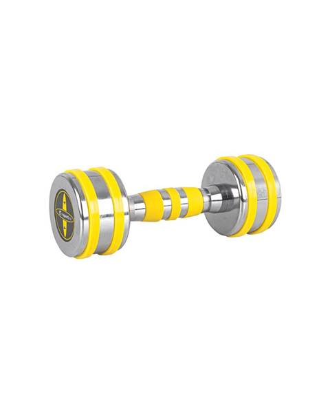 Insportline Chrómová činka inSPORTline Yellsteel 4 kg