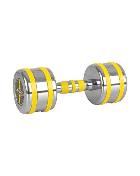 Insportline Chrómová činka inSPORTline Yellsteel 9 kg