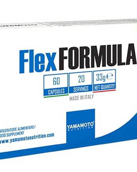 Yamamoto Flex Formula (účinná kĺbová výživa) - Yamamoto 60 kaps.
