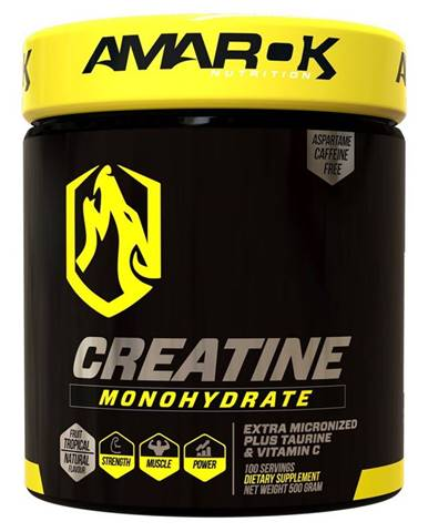 Black Line Creatine Monohydrate - Amarok Nutrition 500 g Tropical