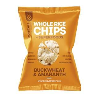 BOMBUS rýžové čipsy Pohánka a Amarant 60 g