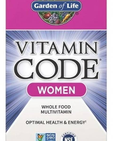 Garden of life Garden Of Life Vitamín Code Raw - Multivitamín pre Ženy 120 kapsúl