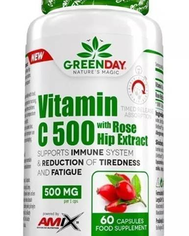 Amix Nutrition Amix Vitamin C 500 s extraktom zo šípok 60 kapsúl