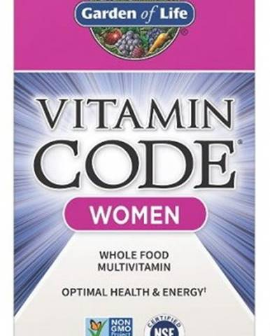 Garden Of Life Vitamín Code Raw - Multivitamín pre Ženy 120 kapsúl