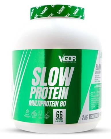 Vigor Nutrition Vigor Slow Protein 2000 g variant: jahoda