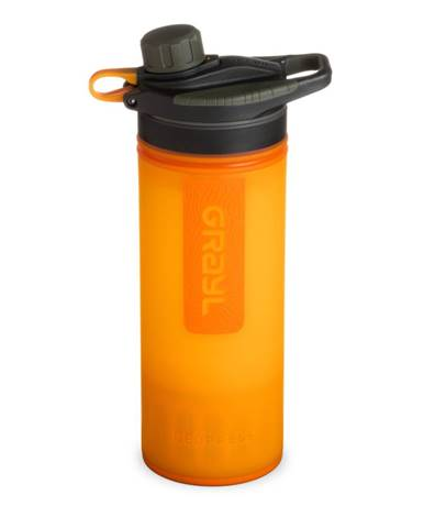 Filtračná fľaša Grayl Geopress Purifier Visibility Orange