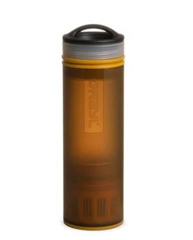 Filtračná fľaša Grayl Ultralight Compact Purifier Coyote Amber