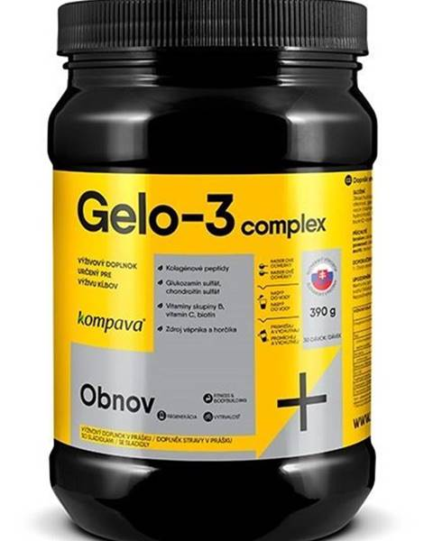 Kompava Gelo-3 complex - Kompava 390 g Broskyňa