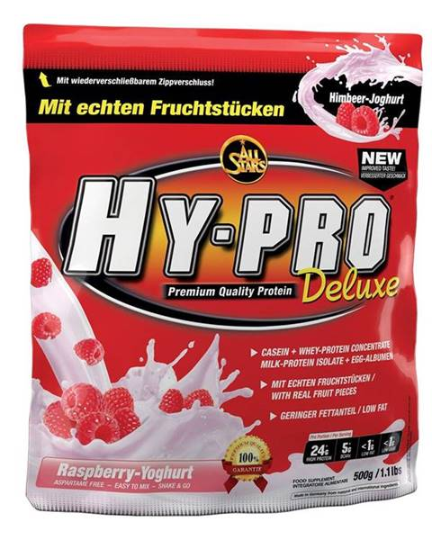 All Stars All Stars Hy-Pro 85 Protein Deluxe 500 g malina jogurt smoothie