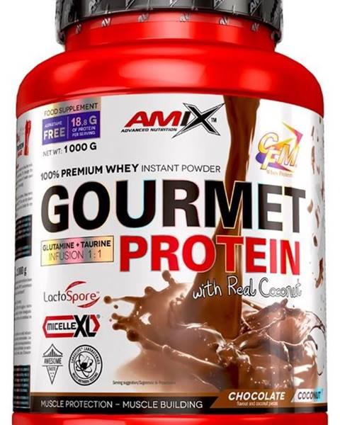 Amix Nutrition Amix Nutrition Amix Gourmet Protein 1000 g variant: biela čokoláda - jahoda