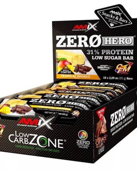 Amix Nutrition Amix Nutrition Amix Zero Hero 31% Protein Bar 15×65 g variant: dvojitá čokoláda