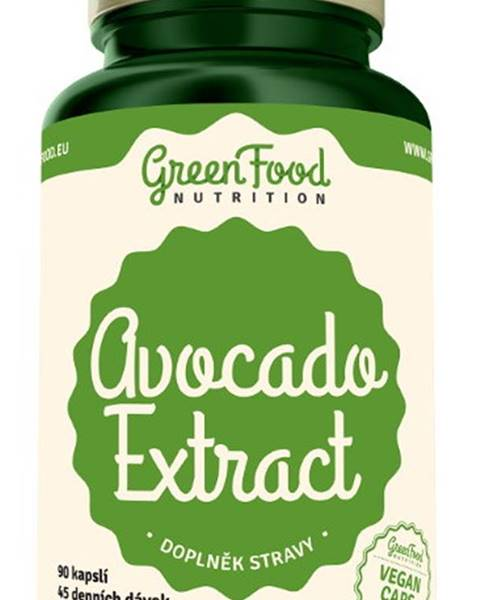GreenFood GreenFood Avocado Extract 90 kapsúl