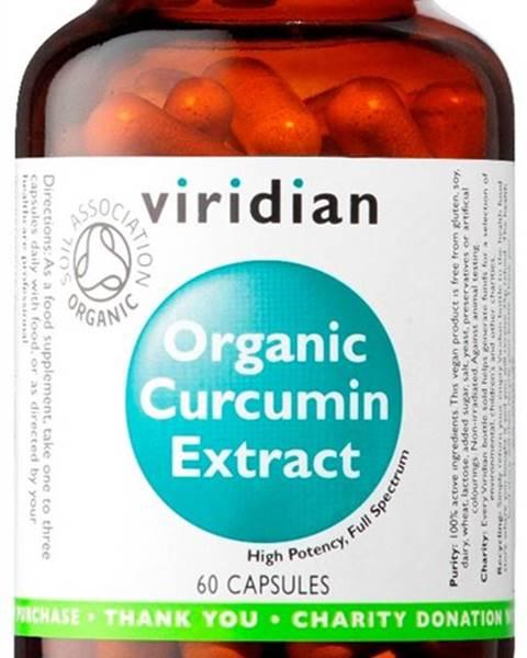 Viridian Viridian Curcumin Extract Organic 60 kapsúl