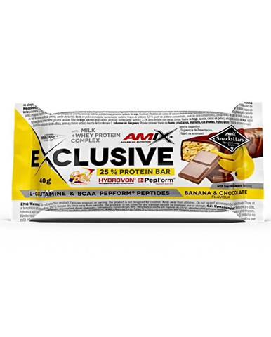 Amix Nutrition Amix Exclusive Bar 40 g variant: ananás s kokosom