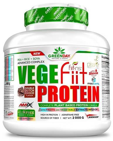 Amix Nutrition Amix Vegefiit protein 2000 g variant: arašidy - čokoláda - karamel