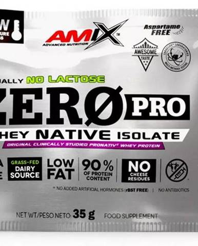 Amix Nutrition Amix ZeroPro Protein 35 g variant: jahoda