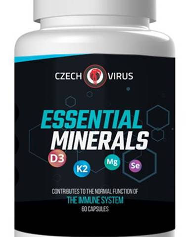 Czech Virus Essential Minerals 60 kapsúl