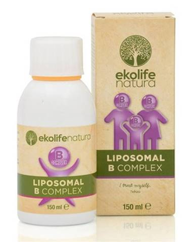 Ekolife Natura Liposomal B Complex (Lipozomálny B-complex) 150 ml