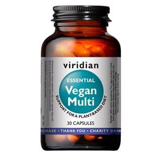 Viridian Vegan Multi (Multivitamín pre vegánov) 30 kapsúl