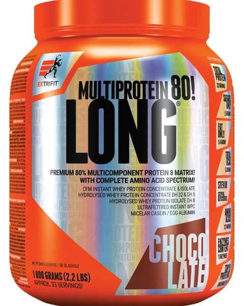 Extrifit Extrifit Long 80 Multiprotein 1000 g variant: čokoláda - kokos