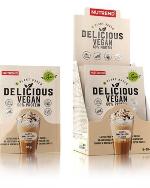 Nutrend Nutrend Delicious Vegan Protein 5×30 g variant: čokoláda - lieskový oriešok