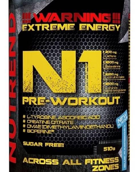 Nutrend Nutrend N1 Pre-Workout 510 g variant: čierne ríbezle