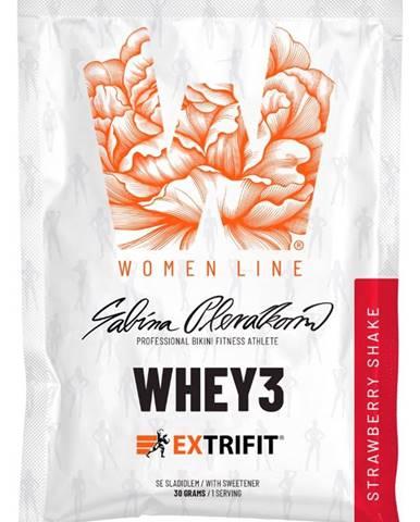 Extrifit Whey 3 30 g variant: mliečna čokoláda