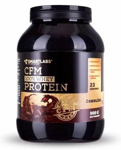 SmartLabs CFM Whey Protein 908 g variant: čokoláda - oriešok