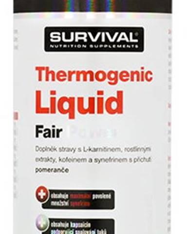 Survival Thermogenic Liquid Fair Power 1000 ml variant: pomaranč