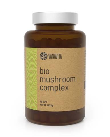 VanaVita Extrakt z húb BIO Mushroom Complex 90 kaps.