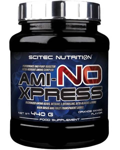 Scitec Nutrition Ami-NO Xpress od Scitec Nutrition 440 g Orange+Mango