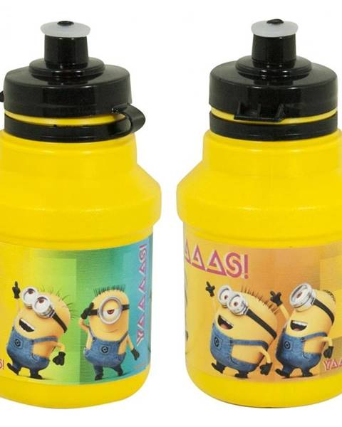 Mimoni Cyklo fľaša Mimoni Bidon 350 ml žltá s držiakom