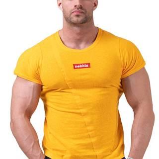 Nebbia Red Label Muscle Back tričko 172 oranžové variant: L