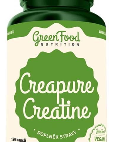 GreenFood Pure Creatine 120 kapsúl